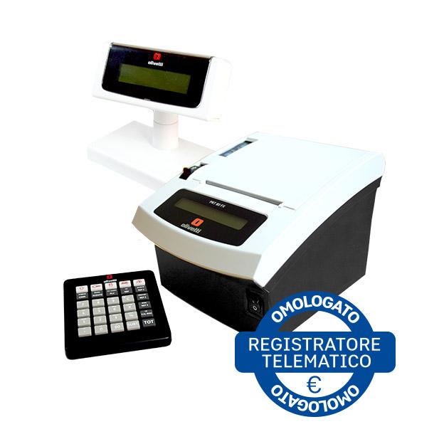PRT 80 FX, nativamente omologata dalla Agenzia delle Entrate come Registratore Telematico